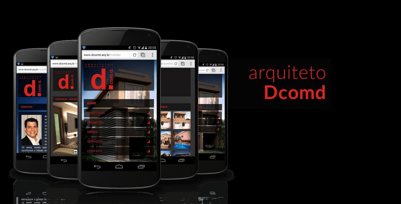 Projeto: Aplicativo Mobile para o Aquiteto Dcomd