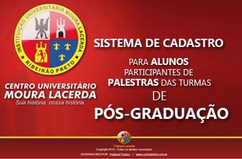 Sistema de Agenda de Eventos para Turmas da Pós-Graduação.